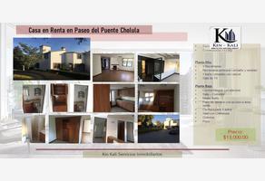 Foto de casa en renta en recta a cholula 1, cholula, san pedro cholula, puebla, 0 No. 01