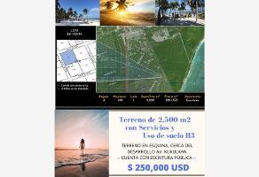 Foto de terreno comercial en venta en región 8 tulum - pueblo s(n, region 15 kukulcan, tulum, quintana roo, 11941431 No. 01