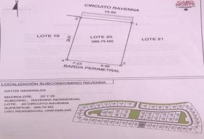 Foto de terreno habitacional en venta en residencial cabo norte , algarrobos desarrollo residencial, mérida, yucatán, 16835521 No. 01
