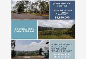 Foto de terreno habitacional en venta en  , residencial campestre chiluca, atizapán de zaragoza, méxico, 16237269 No. 01