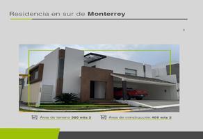 Foto de casa en venta en  , residencial de la sierra, monterrey, nuevo león, 11891906 No. 01
