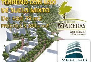 Foto de terreno comercial en venta en  , residencial el parque, el marqués, querétaro, 0 No. 01