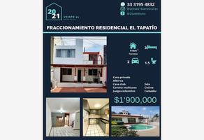 Foto de casa en venta en residencial el tapatio 32, residencial el tapatío, san pedro tlaquepaque, jalisco, 19099559 No. 01