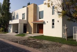 Foto de casa en renta en  , residencial lomas de jiutepec, jiutepec, morelos, 11289548 No. 01