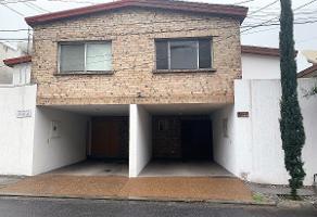 Foto de casa en renta en  , residencial san agustin 1 sector, san pedro garza garcía, nuevo león, 12216793 No. 01