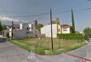 Foto de terreno habitacional en venta en  , residencial san agustin 1 sector, san pedro garza garcía, nuevo león, 6506446 No. 01