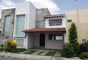 Foto de casa en renta en residencial santorini 1, ex-hacienda la carcaña, san pedro cholula, puebla, 0 No. 01