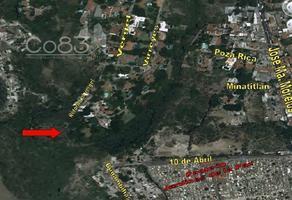 Foto de terreno habitacional en venta en retorno al vergel fraccionamiento a sur , chipitlán, cuernavaca, morelos, 19375314 No. 01