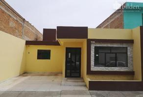 Foto de casa en venta en revolución mexicana 100, división del norte, durango, durango, 0 No. 01