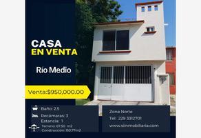 Foto de casa en venta en río cortijos 16, lomas de rio medio ii, veracruz, veracruz de ignacio de la llave, 0 No. 01