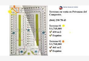 Foto de terreno habitacional en venta en rio nilo 2, el 18 de marzo, arteaga, coahuila de zaragoza, 0 No. 01