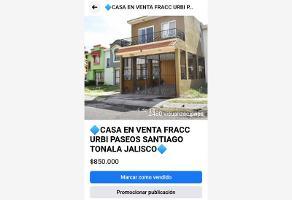 Foto de casa en venta en rio tlatenango 1315, urbi quinta montecarlo, tonalá, jalisco, 12713672 No. 01