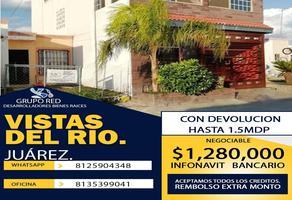 Foto de casa en venta en salado , vistas del río, juárez, nuevo león, 0 No. 01