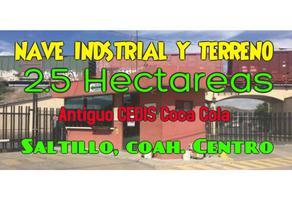 Foto de bodega en venta en  , saltillo zona centro, saltillo, coahuila de zaragoza, 13550680 No. 01