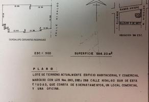Foto de terreno comercial en venta en  , saltillo zona centro, saltillo, coahuila de zaragoza, 13979685 No. 01