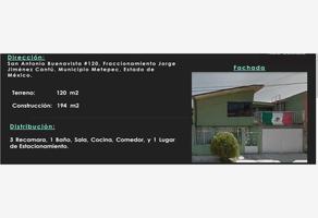Foto de casa en venta en san antonio buenavista 120, dr. jorge jiménez cantú, metepec, méxico, 13265832 No. 01