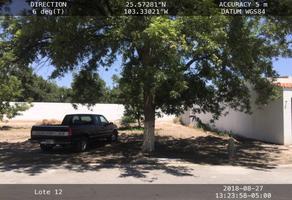 Foto de terreno habitacional en venta en  , san armando, torreón, coahuila de zaragoza, 0 No. 01
