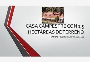 Foto de casa en venta en san bartolome , san bartolomé del pino (san bartolo), amealco de bonfil, querétaro, 0 No. 01