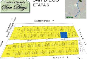 Foto de terreno habitacional en venta en san diego cutz , san francisco de asís, conkal, yucatán, 0 No. 01