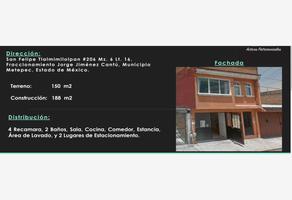 Foto de casa en venta en san felipe tlalmimilolpan 206, dr. jorge jiménez cantú, metepec, méxico, 13265834 No. 01