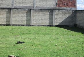 Foto de terreno habitacional en venta en san felipe tlalmimilolpan , san felipe tlalmimilolpan, toluca, méxico, 15181238 No. 01