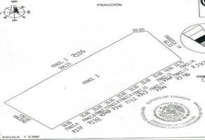 Foto de terreno habitacional en venta en  , san francisco de asís, conkal, yucatán, 14178318 No. 01