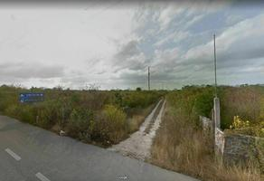 Foto de terreno habitacional en venta en  , san francisco de asís, conkal, yucatán, 20853151 No. 01