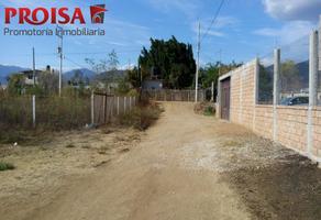 Foto de terreno habitacional en venta en  , san francisco lachigolo, san francisco lachigoló, oaxaca, 5574336 No. 01