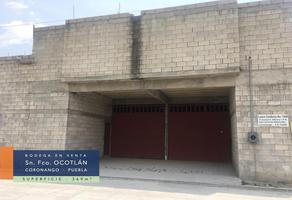 Foto de nave industrial en venta en  , san francisco ocotlán, coronango, puebla, 16973221 No. 01