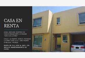 Foto de casa en renta en san guillermo , lázaro cárdenas, san pedro cholula, puebla, 0 No. 01