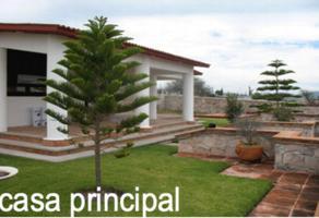 Foto de rancho en venta en san isidro 100, el tejocote, tequisquiapan, querétaro, 0 No. 01