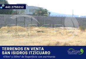 Foto de terreno habitacional en venta en  , san isidro itzícuaro, morelia, michoacán de ocampo, 6479526 No. 01