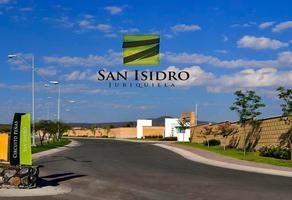 Foto de terreno habitacional en venta en san isidro , nuevo juriquilla, querétaro, querétaro, 18395405 No. 01