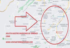 Foto de terreno habitacional en venta en san jeronimo , san jerónimo lídice, la magdalena contreras, df / cdmx, 0 No. 01