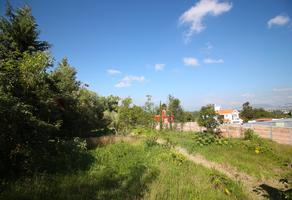 Foto de terreno habitacional en venta en  , san jose del cerrito, morelia, michoacán de ocampo, 16815893 No. 01