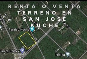 Foto de terreno habitacional en venta en  , san jose, mérida, yucatán, 0 No. 01
