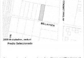 Foto de terreno habitacional en venta en  , san juan xalpa, iztapalapa, df / cdmx, 5461984 No. 01