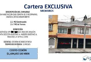 Foto de casa en venta en  , san juan de aragón, gustavo a. madero, df / cdmx, 12548274 No. 01