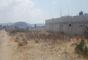 Foto de terreno habitacional en venta en  , san juan tilcuautla, san agustín tlaxiaca, hidalgo, 13519336 No. 01