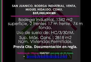 Foto de nave industrial en venta en  , san juanico, miguel hidalgo, df / cdmx, 10847323 No. 01