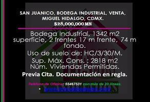 Foto de nave industrial en venta en  , san juanico, miguel hidalgo, df / cdmx, 18268912 No. 01
