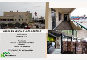 Foto de local en venta en san lorenzo 410, san rafael, juárez, chihuahua, 16597044 No. 01