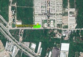Foto de terreno habitacional en venta en  , san marcos nocoh, mérida, yucatán, 17344324 No. 01