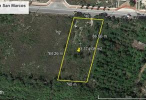 Foto de terreno habitacional en venta en  , san marcos nocoh, mérida, yucatán, 6572197 No. 01