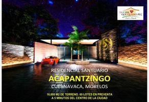 Foto de terreno habitacional en venta en  , san miguel acapantzingo, cuernavaca, morelos, 12968538 No. 01