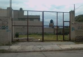 Foto de terreno habitacional en venta en  , san miguel xico i sección, valle de chalco solidaridad, méxico, 14374301 No. 01