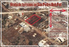 Foto de terreno habitacional en venta en  , san pedro, kanasín, yucatán, 11724844 No. 01