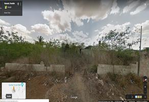 Foto de terreno habitacional en venta en  , san pedro noh pat, kanasín, yucatán, 7505950 No. 01