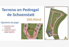 Foto de terreno habitacional en venta en san rafael 77, colinas de schoenstatt, corregidora, querétaro, 0 No. 01