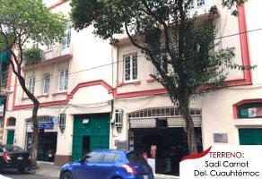 Foto de terreno habitacional en venta en  , san rafael, cuauhtémoc, df / cdmx, 12828971 No. 01